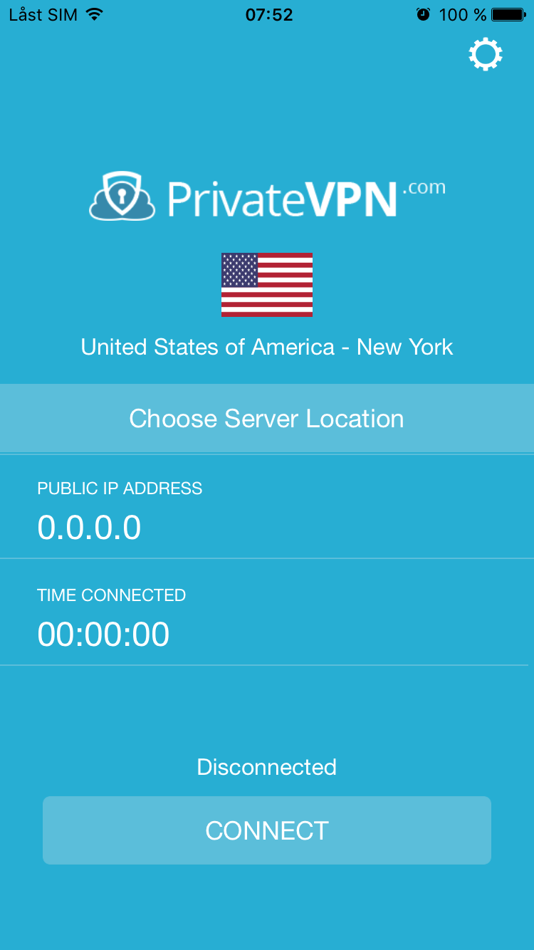 iOS VPN App released